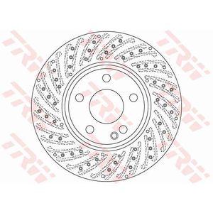 DISQUES DE FREIN TRW Disque de frein unitaire DF6262S