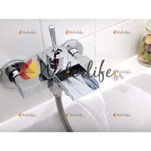 robinet mitigeur cascade mural bain et douche p ba Résultat Supérieur 14 Meilleur De Robinet Cascade Pas Cher Stock 2018 Hgd6