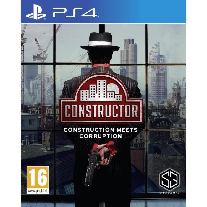 Constructor Jeu PS4