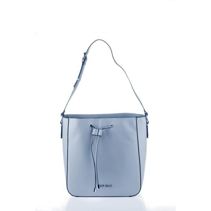 ARMANI JEANS - Sac à Bandoulière Bleu Ciel à Coulisse - Femme