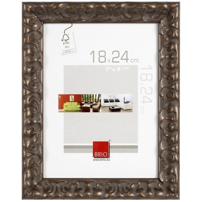 Brio cadre photo casanova bronze 40x50 cm achat vente - Cadre photo 40x50 ...
