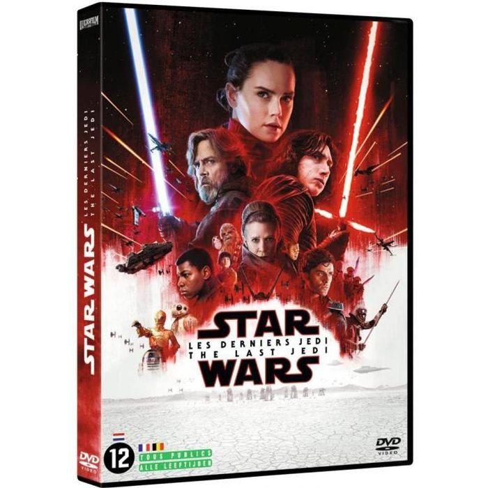DVD FILM Star Wars : Les Derniers Jedi (DVD)