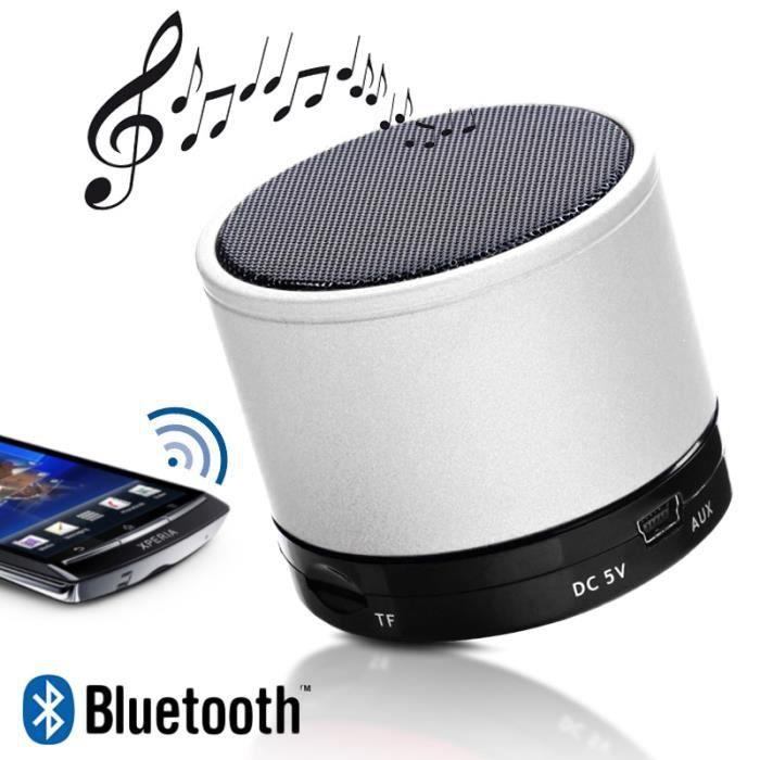 mini enceinte bluetooth speaker mp3 couleur jaune smartphone tablette apple samsung sony. Black Bedroom Furniture Sets. Home Design Ideas