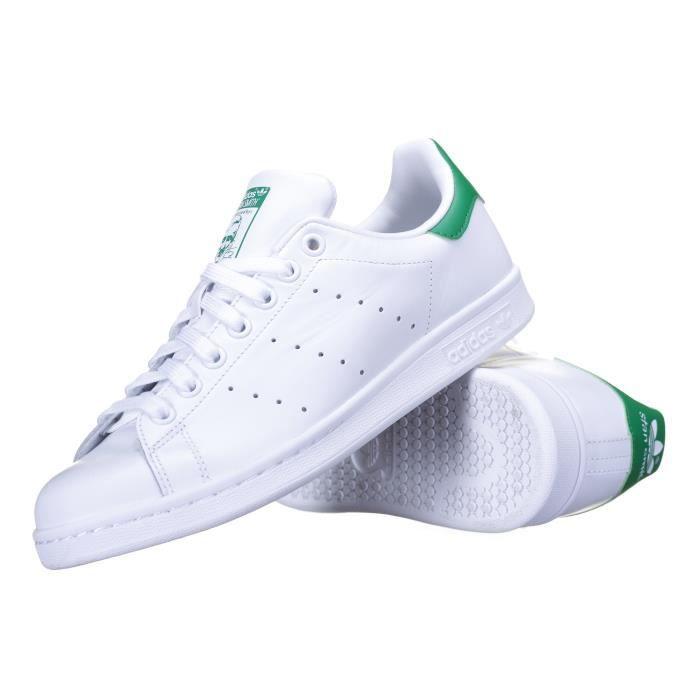 Chaussure Stan Blan… Vente Smith Achat Basket Adidas Blanc 8wmNOnv0