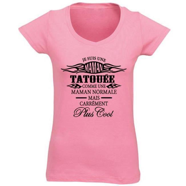 tee shirt femme tatouee