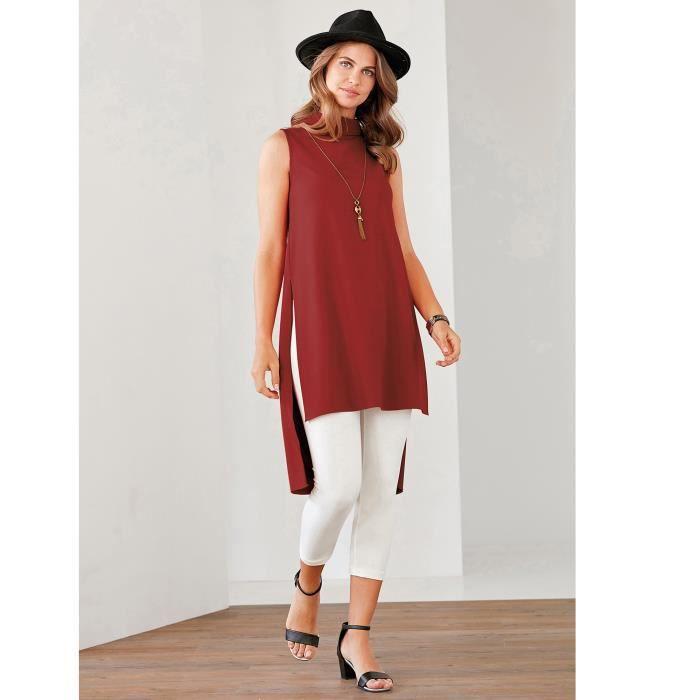 chemise asymetrique femme,chemise asymetrique manches courtes femme ... a7fb4c33c2eb