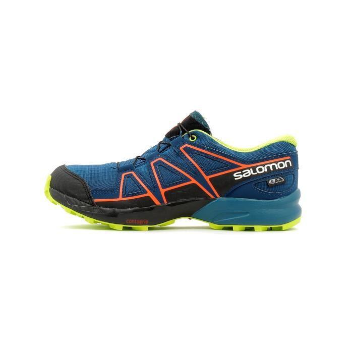 69cee56058a Chaussures de trail Salomon Speedcross CSWP J - Prix pas cher ...