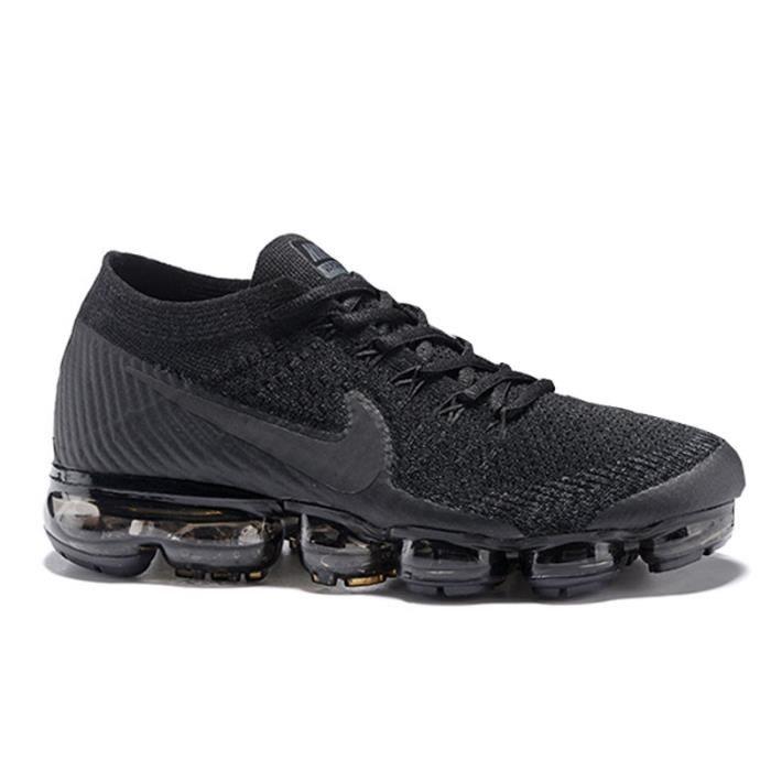 big sale 53e83 3c3af BASKET Nike Air VaporMax Flyknit Chaussures de course Noi
