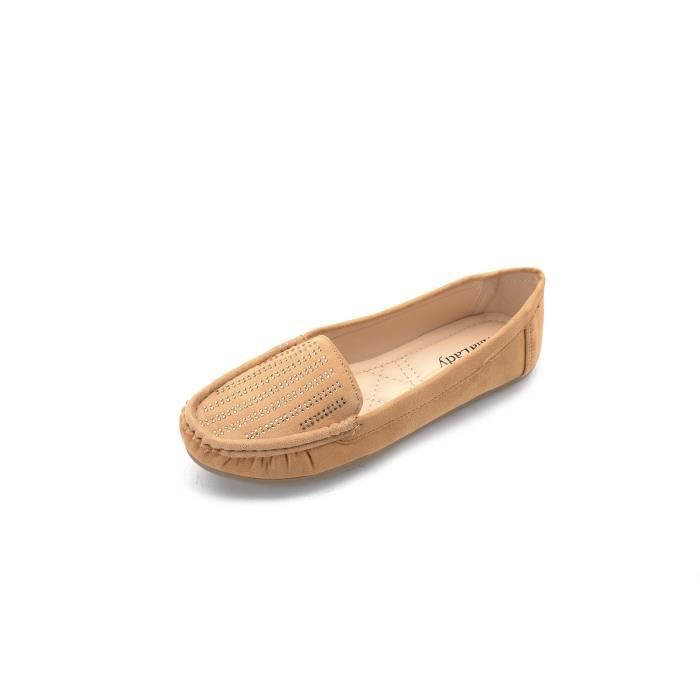Mlia Lady (zenobia) Loafer Slip On Moccasins Driving Shoes F3SW7 Taille-38 1-2