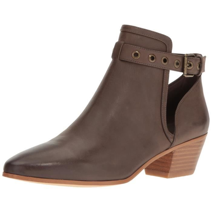 Nine West Bottes en cuir Loyal ZBIEY Taille-38 1-2