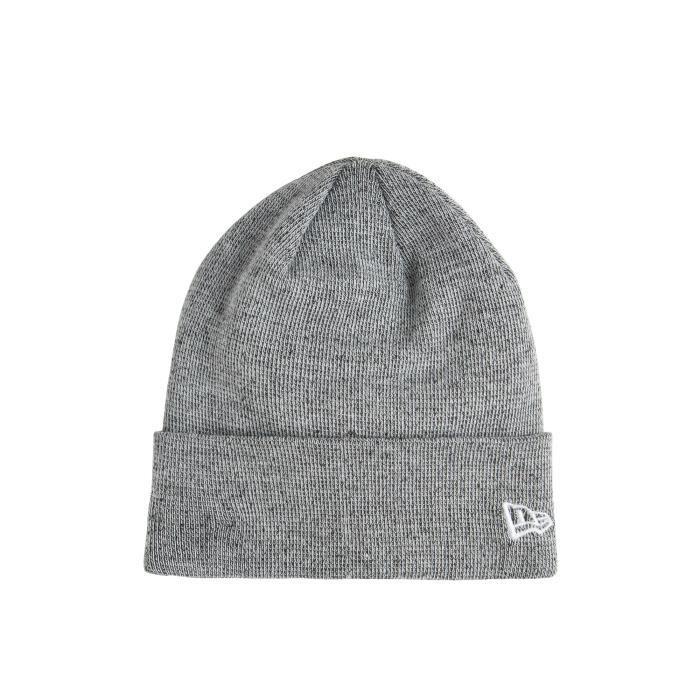 Bonnet Fleckle Knit 2 New Era Gris Chine Gris - Achat   Vente bonnet ... 623ccbf677b7