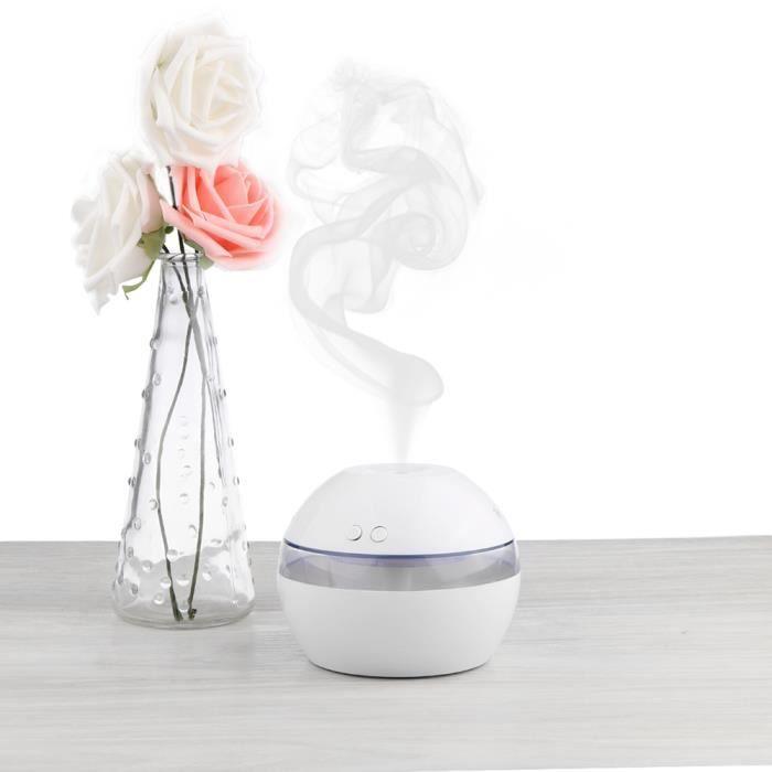 Lampe Parfum Aromatique Mini D'air 300ml Maison Avec Diffuseur Purificateur Led Humidificateur jLRAS4qc53