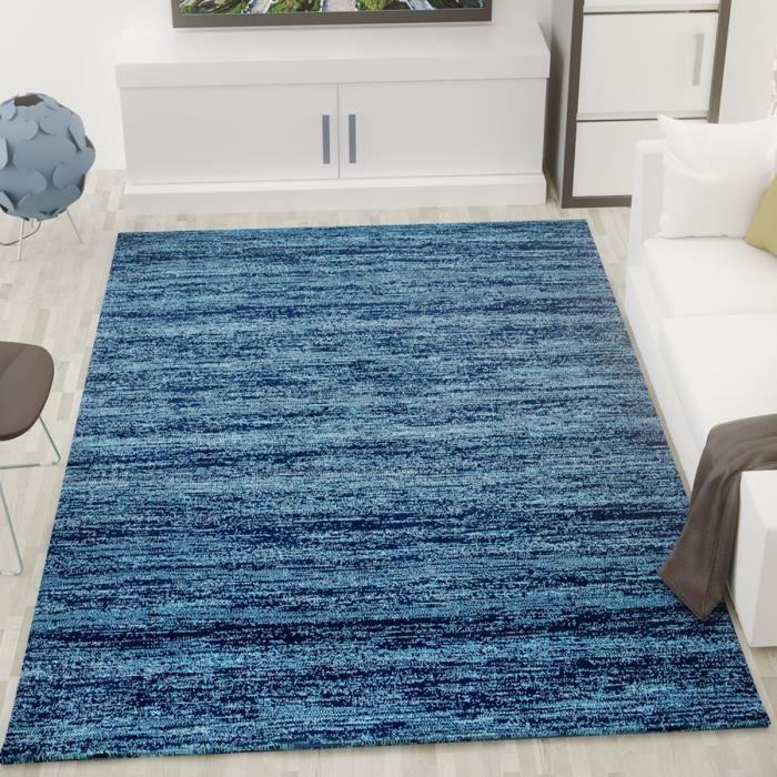 Tapis Bleu X Achat Vente Pas Cher - Faience cuisine et tapis pas cher 160x230