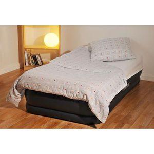 lit gonflable intex 1 place achat vente lit gonflable intex 1 place pas cher soldes d s. Black Bedroom Furniture Sets. Home Design Ideas