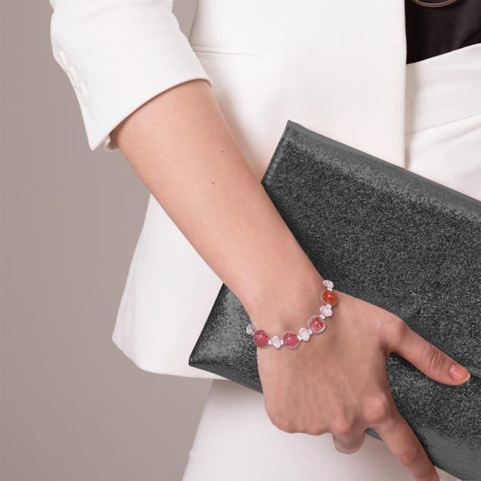 25377 - Bracelet Femme - Plaqué Argent - Cristal C3MQD
