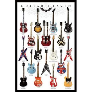 AFFICHE - POSTER Guitares Poster - Guitar Heaven I (91 x 61 cm)