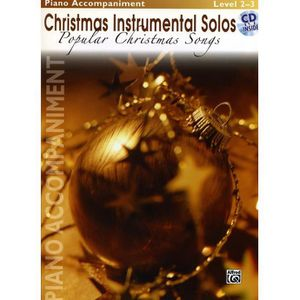 PARTITION Christmas Instrumental Solos : Popular Christmas S