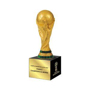 TROPHÉE - MÉDAILLE Trophée France FIFA Coupe du Monde 2018