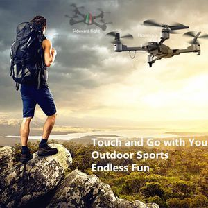 DRONE Drone 0.3MP FPV Caméra Pliable WIFI USB 2.4G 4 LED