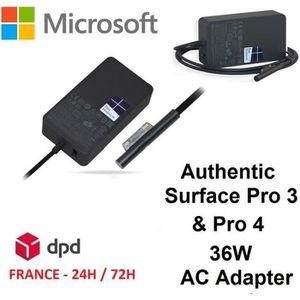 CHARGEUR - ADAPTATEUR  Chargeur ORIGINAL pour tablette Microsoft Surface