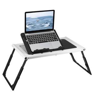 SUPPORT PC ET TABLETTE Table d'ordinateur portable pliable Rechargeable-P