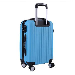 VALISE - BAGAGE 28'' Valise cabine Low Cost ABS 4Roues bleu