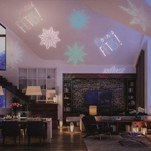 PROJECTEUR LASER NOËL Projecteur LED de Noël d'extérieur - Disque