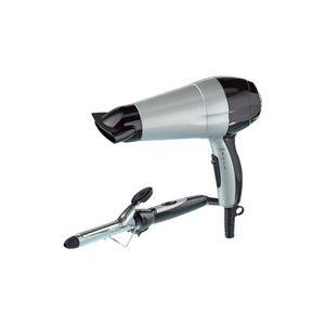 SÈCHE-CHEVEUX Duo coiffure sèche-cheveux + fer à friser