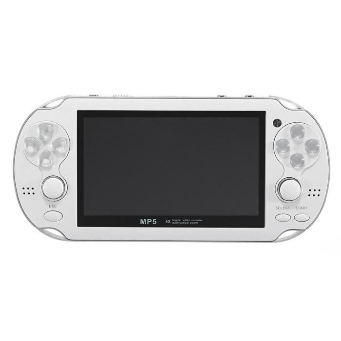 CONSOLE PSP Blanc Console PSP Écran de 4,3 pouces 300 jeux int
