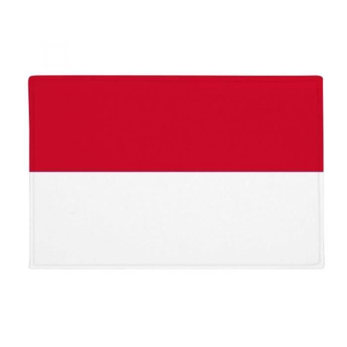 Drapeau De L Indonésie l'indonésie asie pays du drapeau national tapis tapis antidérapant