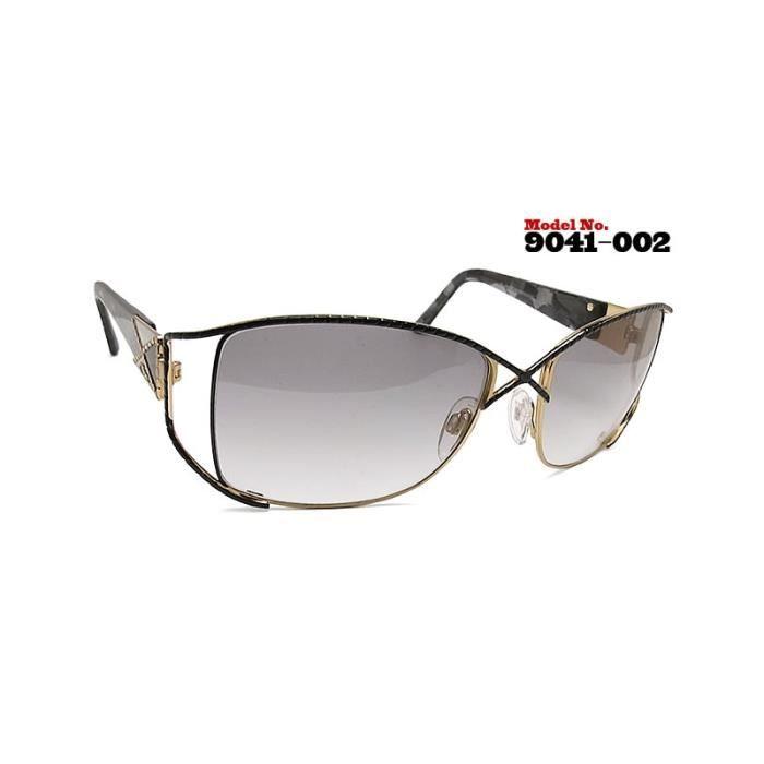 97c2adc9521dd8 Cazal 9041 3 002 Noir Or Noir, Or - Achat   Vente lunettes de soleil ...