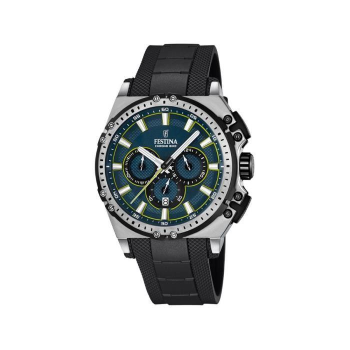 F16970 Cadran Multicolore Noir Plastique 3 Festina Montre Bracelet Homme Quartz Analogique sQrBhdCtx