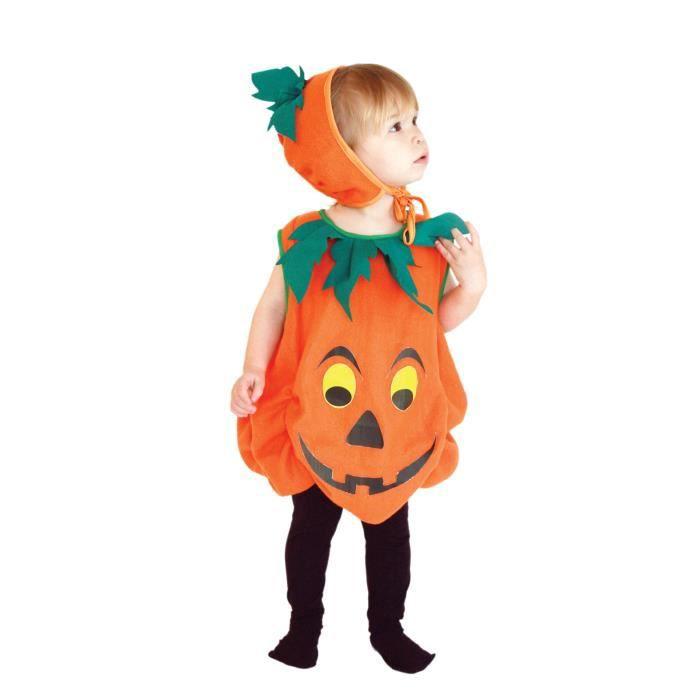 Gemvie d guisement citrouille enfant costume mignon halloween cosplay achat vente - Deguisement de citrouille ...