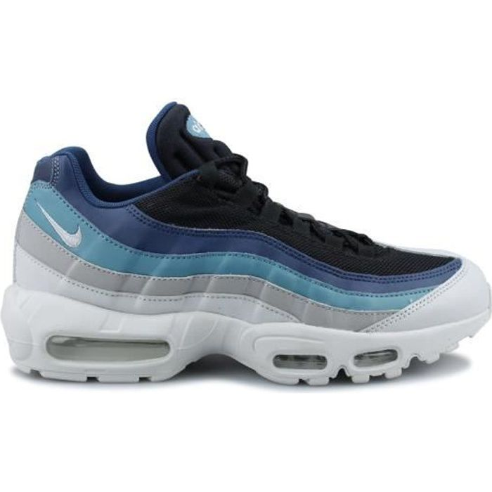 huge discount 89889 3dc76 Basket Nike Air Max 95 Essential Platine 749766-026