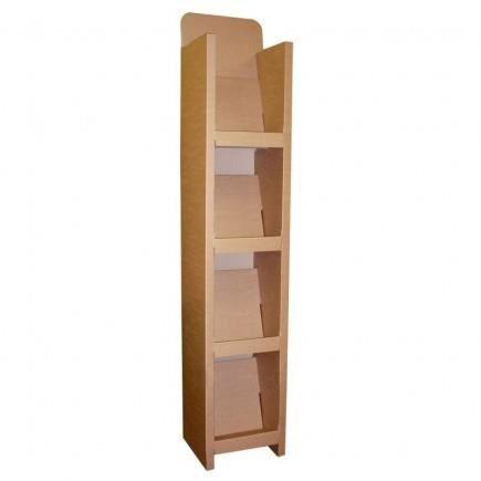 etag re pr sentoir en carton recycl achat vente. Black Bedroom Furniture Sets. Home Design Ideas