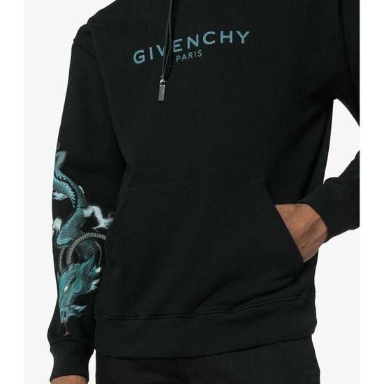 98fb7b2282a Sweat-shirt Givenchy Dragon BM70ES306C Noir - Homme Noir NOIR - Achat    Vente sweatshirt - Cdiscount