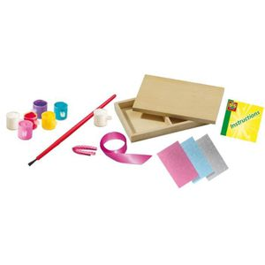 SES CREATIVE Kit de décorations pour boîte ? bijoux