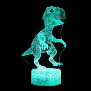 LAMPE A POSER Lampe 3D Enfants Night 7 LED couleurs changeantes
