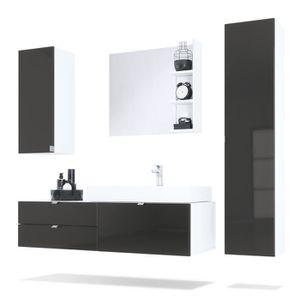 ensemble de meubles de bains maui corps en blanc Résultat Supérieur 15 Élégant Meuble Salle De Bain Discount Pic 2017 Phe2