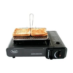 RÉCHAUD - FOUR - BARBECUE - PLANCHA EUROMARINE 1 Plaque Grill Toaster 2 Tranches