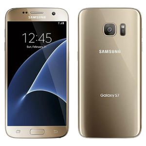 Téléphone portable Samsung Galaxy S7 6390 32Go Or Téléphone