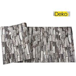 papier peint brique achat vente pas cher. Black Bedroom Furniture Sets. Home Design Ideas