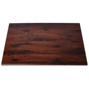 PLATEAU DE TABLE Plateau de table rectangulaire chêne antique 1100m
