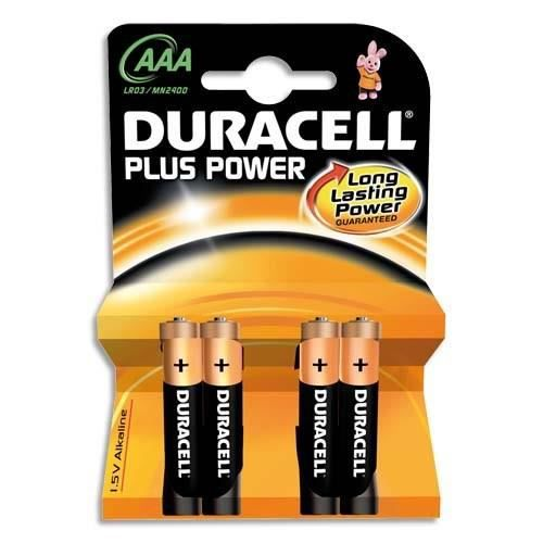 DURACELL - 12 piles LR03/AAA - Ouverture D-click