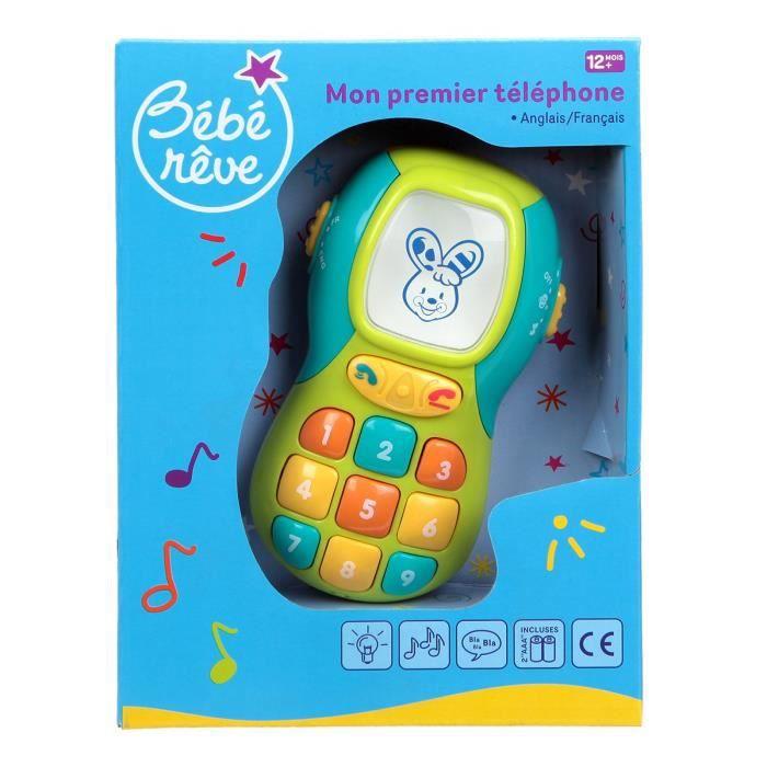Mon 1er Téléphone Jeux éducatif