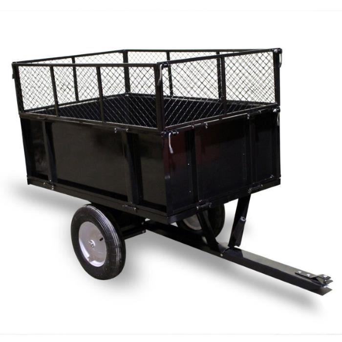 remorque pour tracteur tondeuse achat vente remorque pour tracteur tondeuse pas cher cdiscount. Black Bedroom Furniture Sets. Home Design Ideas