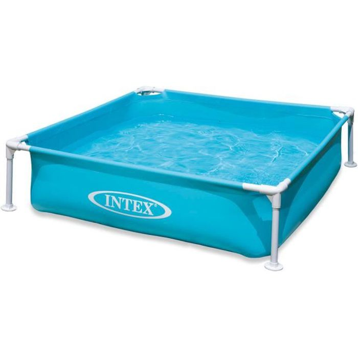 Piscine intex carre achat vente piscine intex carre pas cher soldes d s le 10 janvier - Piscine tubulaire intex pas cher ...