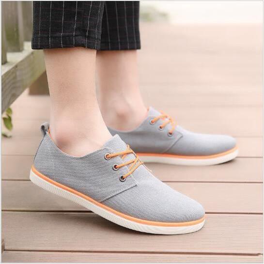Nouvelle Arrivée Lacets Pour Toile Hommes Été Confortable Printemps à Casual Mode Chaussures rrBqCgw