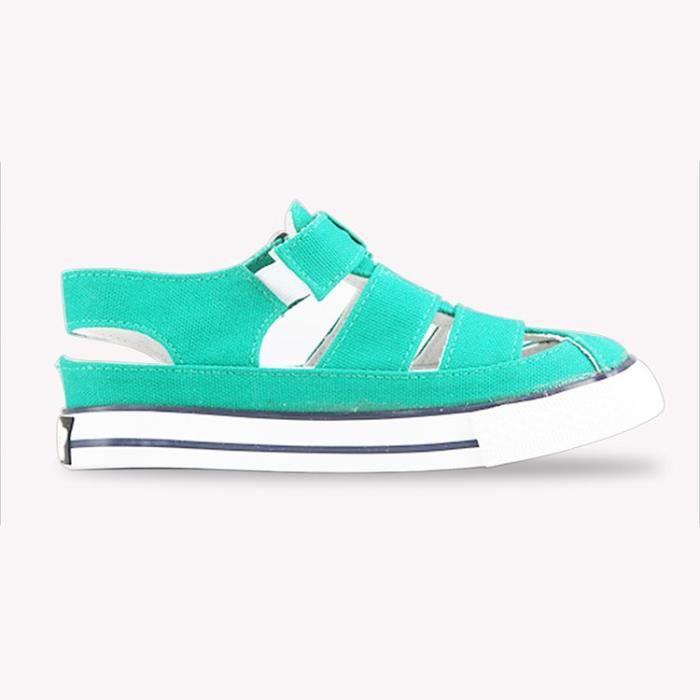 Basket Chaussures de toile d'été pour enfants Chaussures de sport respirantes Chaussures de sport casual Chaussures de course
