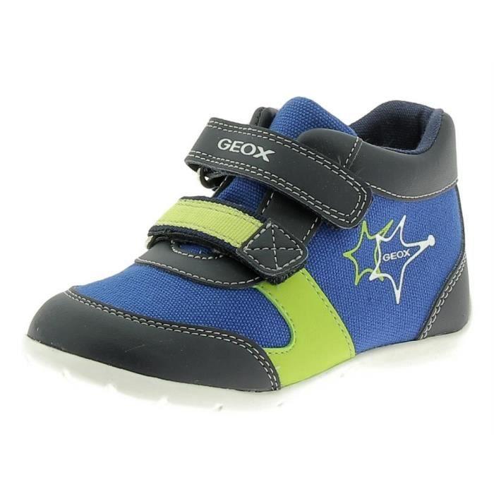 Geox - Geox Elthan Chaussures de Sport Petit Garçon Bleu